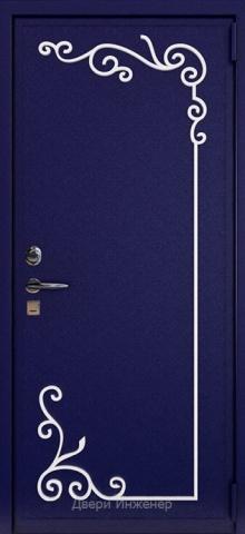 Дверь с ковкой DR261