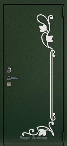 Дверь с ковкой DR269