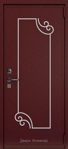 Дверь с ковкой DR265