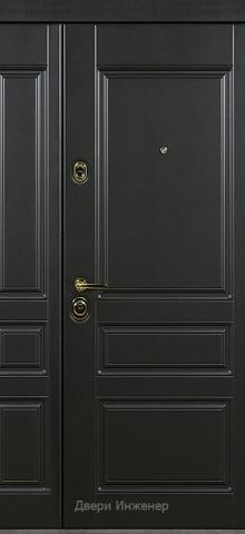 Двустворчатая дверь DR410