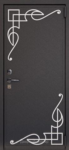 Дверь с ковкой DR263