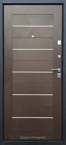 Дверь с молдингом DR198