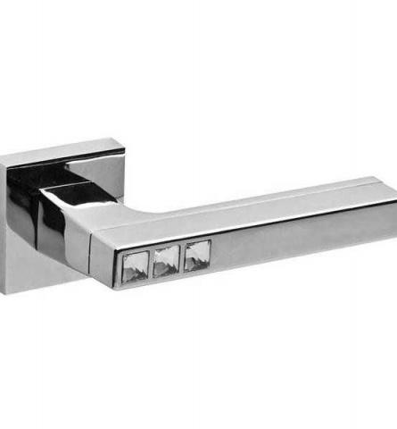 Ручка дверная Fuaro Crystal Flash DM CP-8